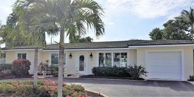 Riviera Beach Single Family Home For Sale: 1025 Powell Drive