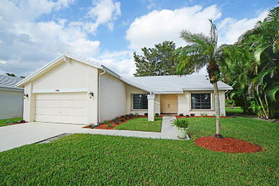 Boca Raton Single Family Home For Sale: 6317 Casabella Lane