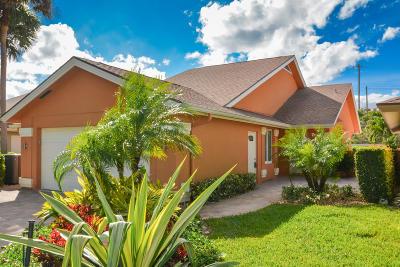 Jupiter Single Family Home For Sale: 170 Seashore Drive