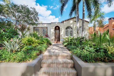 West Palm Beach Single Family Home For Sale: 833 Sunset Road