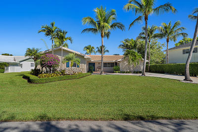 Palm Beach Gardens Single Family Home For Sale: 4161 Hickory Drive
