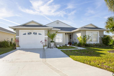 Fort Pierce Single Family Home For Sale: 6737 Alheli