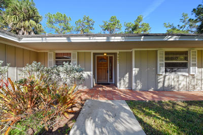 Jupiter Single Family Home For Sale: 9607 Whippoorwill Trail