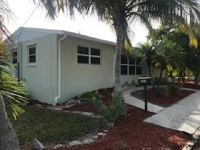 West Palm Beach Single Family Home For Sale: 846 Selkirk Street