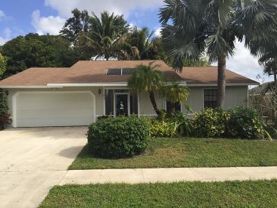 Royal Palm Beach Single Family Home Contingent: 203 Bobwhite Road