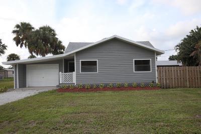Stuart Single Family Home For Sale: 255 SE Salerno Road