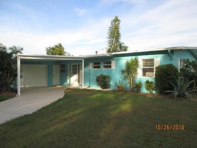 Port Saint Lucie Single Family Home For Sale: 3009 SE Pruitt Road