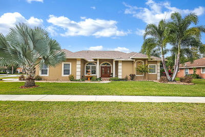 Wellington Single Family Home Contingent: 2665 Yarmouth Drive