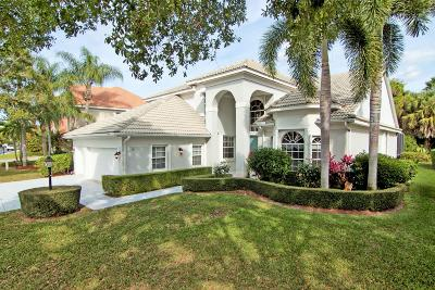 Palm Beach Gardens Single Family Home For Sale: 121 Satinwood Lane