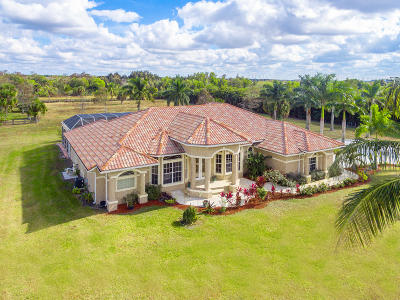 Loxahatchee Single Family Home For Sale: 2322 Prarieview Drive