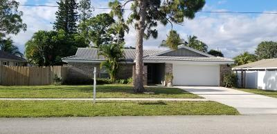 North Palm Beach Single Family Home For Sale: 1964 Ascott Road