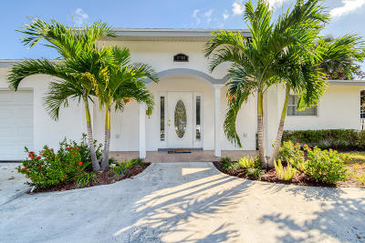 Palm Beach Gardens Single Family Home For Sale: 9708 Heather Circle W