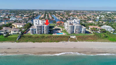 Highland Beach Condo For Sale: 2575 S Ocean Boulevard #305s