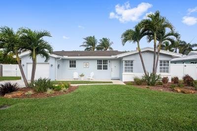 Boynton Beach Single Family Home For Sale: 809 Sunset Road