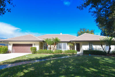 Palm Beach Gardens Single Family Home For Sale: 5125 Woodland Lakes Drive