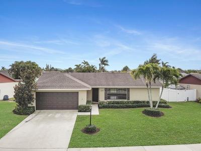 Boynton Beach Single Family Home For Sale: 6393 Bengal Circle