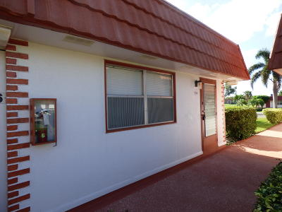 Delray Beach Single Family Home For Sale: 166 Waterford G