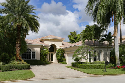 Palm Beach Gardens Single Family Home For Sale: 109 Via Florenza