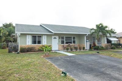 Palm Beach Gardens Single Family Home For Sale: 4672 Brady Lane