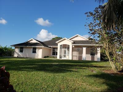 Loxahatchee Single Family Home For Sale: 16137 Aintree Drive E