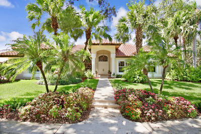 Tequesta Single Family Home For Sale: 7 Eastwinds Circle