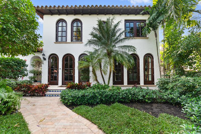 Palm Beach Single Family Home For Sale: 212 Australian Avenue