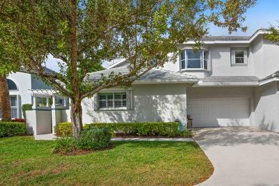 Jupiter Townhouse For Sale: 3064 Mainsail Circle