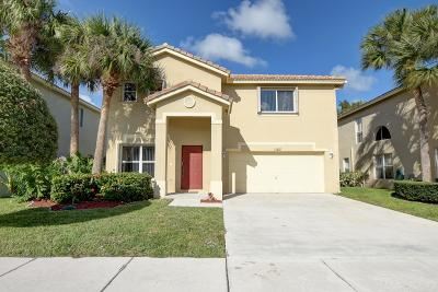 Boynton Beach Single Family Home For Sale: 1123 Fosters Mill Drive