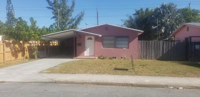 Lake Worth Single Family Home For Sale: 1102 S F Street