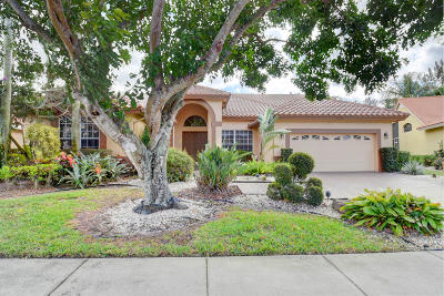Boynton Beach, Gulf Stream Single Family Home For Sale: 7836 Dorchester Road