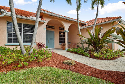 Hobe Sound Single Family Home For Sale: 8353 SE Ketch Court