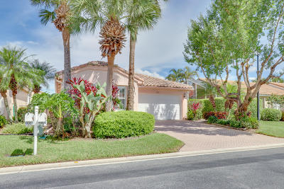 Boynton Beach Single Family Home For Sale: 11956 Primrose Park