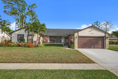 Wellington Single Family Home For Sale: 14229 Stirrup Lane