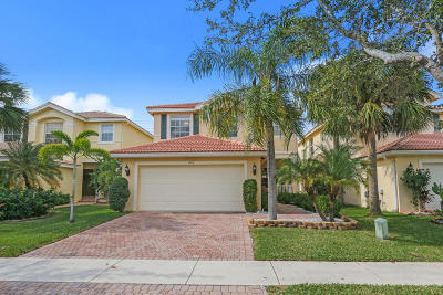 Royal Palm Beach Single Family Home Contingent: 625 Garden Cress Trail