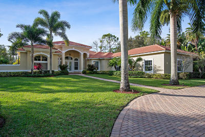 Jupiter Single Family Home Contingent: 19176 SE Old Trail Drive W