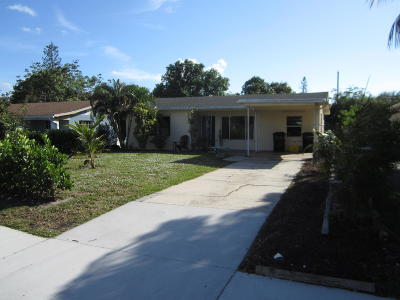 Lake Worth Single Family Home For Sale: 1515 17th Avenue