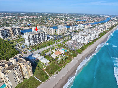 Highland Beach Condo For Sale: 3400 S Ocean Boulevard #9k