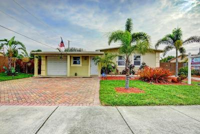 Deerfield Beach Single Family Home Contingent: 294 NE 45th Street