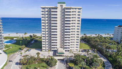 Palm Beach County Condo For Sale: 750 S Ocean Boulevard #15-S