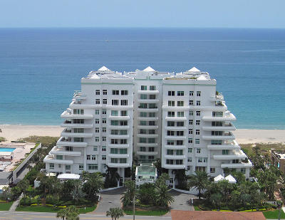 Palm Beach County Condo For Sale: 2494 S Ocean Boulevard #C-9