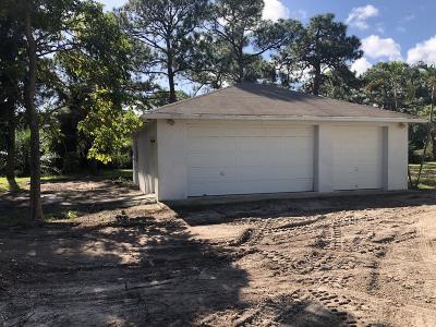 Lake Worth Single Family Home For Sale: 6370 High Ridge Road