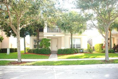 Palm Beach Gardens Single Family Home For Sale: 8421 Alister Boulevard