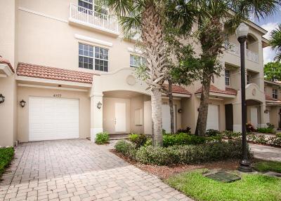Palm Beach Gardens Townhouse For Sale: 4577 Artesa Way S