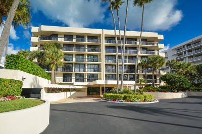 Palm Beach Condo For Sale: 3140 S Ocean Boulevard #202s