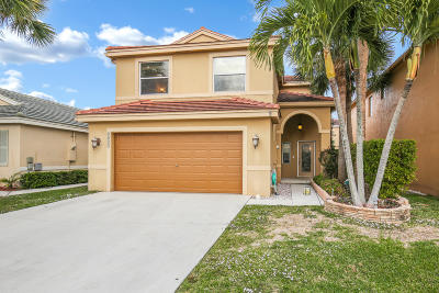 Lake Worth Single Family Home For Sale: 6055 Spring Isles Boulevard