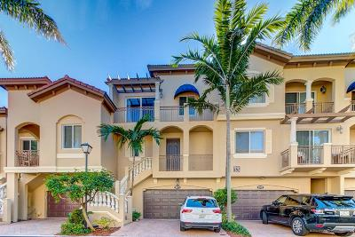 Boynton Beach Townhouse For Sale: 3025 Waterside Circle