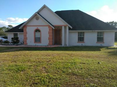 Loxahatchee Single Family Home For Sale: 18682 47th Court