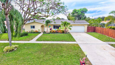 Coconut Creek Single Family Home For Sale: 551 NW 41st Avenue
