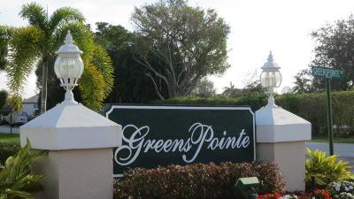 Boynton Beach Condo Contingent: 6251 Greenspointe Drive