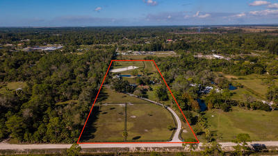Loxahatchee Groves, Loxahatchee Groves I, Loxahatchee Grvs, Loxahatchee, Florida 33470- 3109 Single Family Home For Sale: 3765 E Road